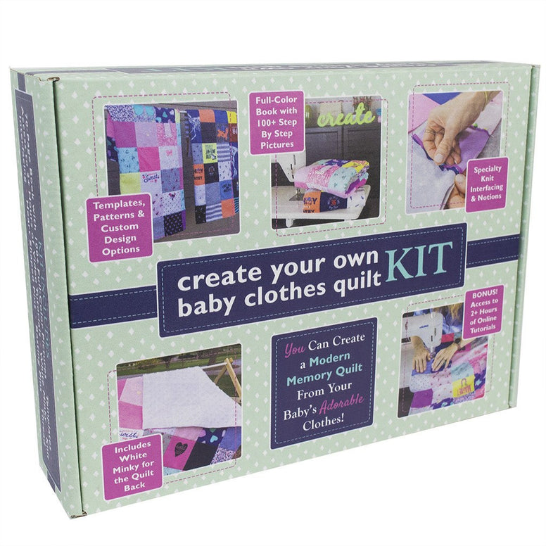 Baby Clothes Quilt Kit