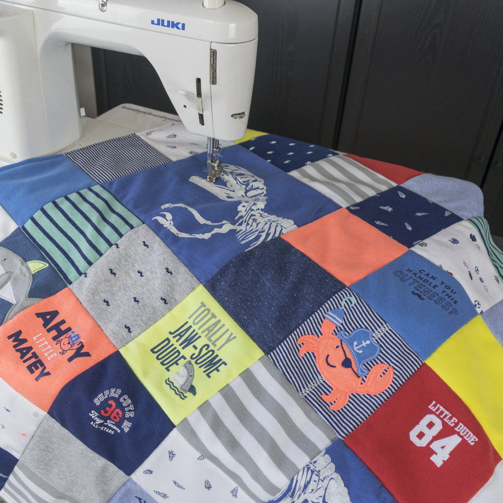 Create Your Own Baby Clothes Quilt Kit: Quilt Pattern, Tutorial ... : quilt materials - Adamdwight.com