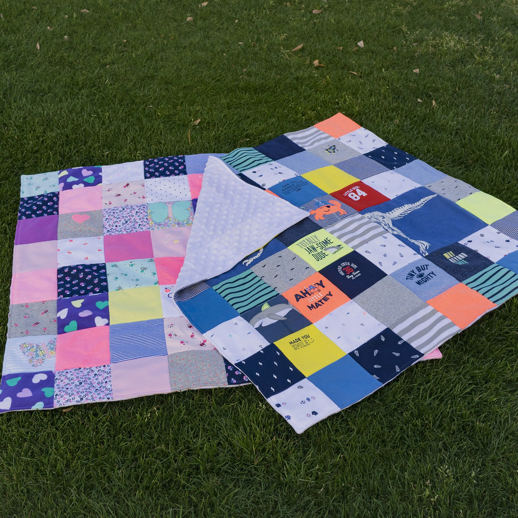 Create Your Own Baby Clothes Quilt Kit: Quilt Pattern, Tutorial ... : quilt book - Adamdwight.com