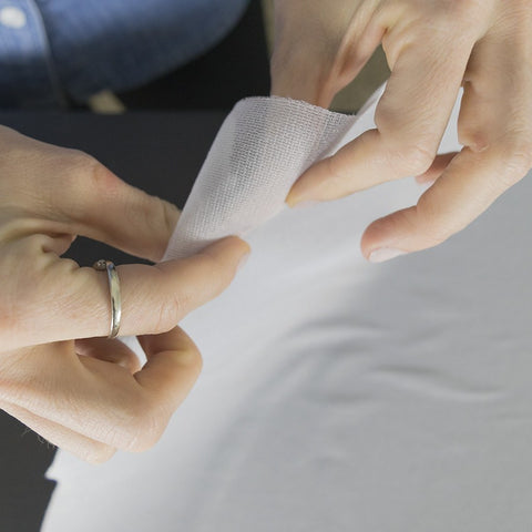 Fusible Knit Interfacing for T-Shirt Quilts and Baby Clothes Quilts