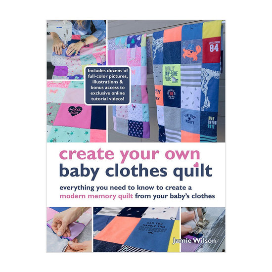 DIY Baby Clothes Quilt   DIY Baby Clothes Quilt Kits from
