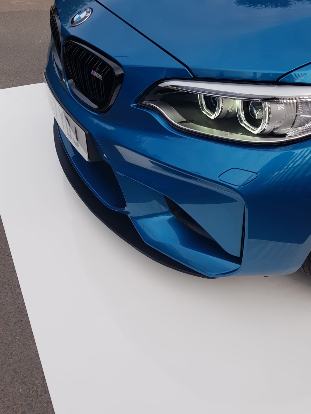 BMW M2 and M2C front splitter