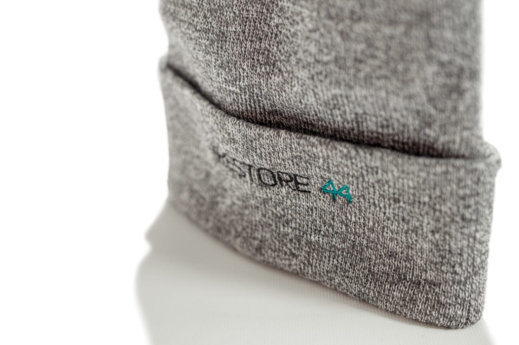 Heather Grey Restore44 beanie