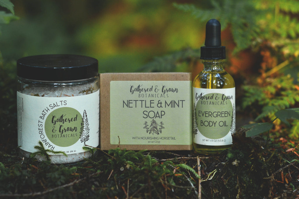 Gathered and Grown Botanicals Forest Collection