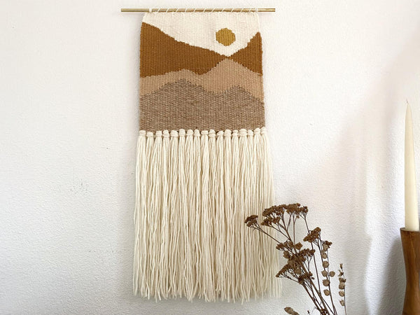 Happy Mountain Designs wall hanging