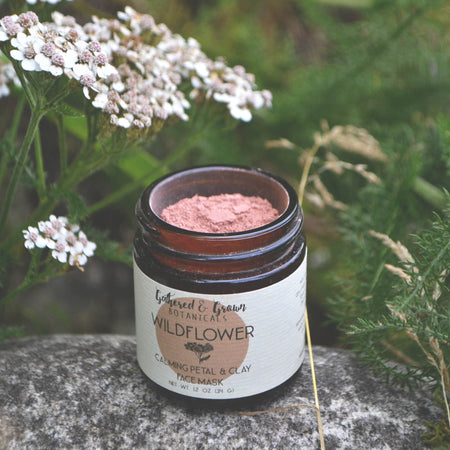 Wildflower Herbal Face Mask