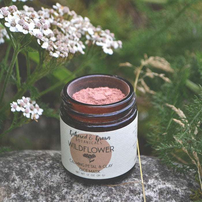 Wildflower Face Mask - Calming Petals & Clay