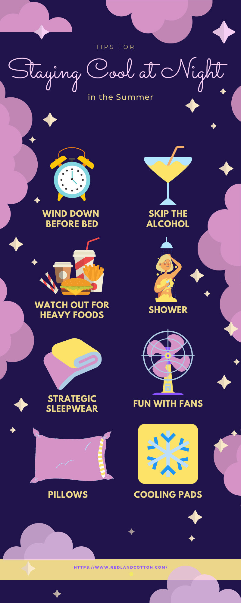 Tips for Staying Cool at Night in the Summer