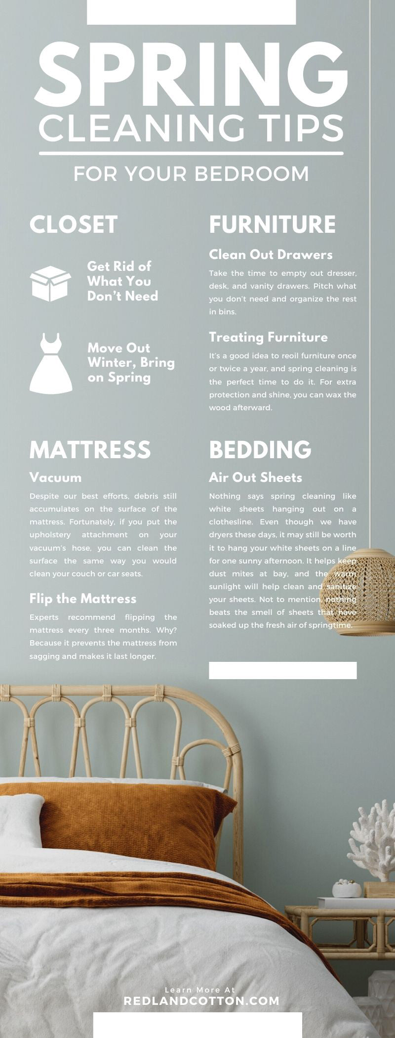 Spring Cleaning Tips for Your Bedroom