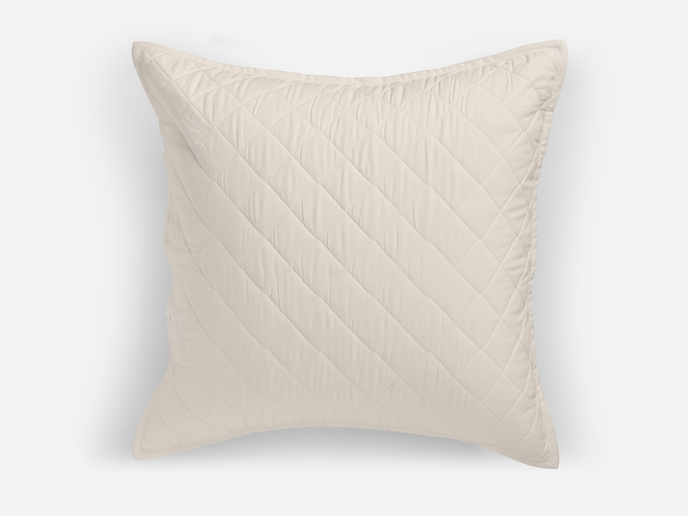 Bankhead Basic Classic Quilted Euro Sham