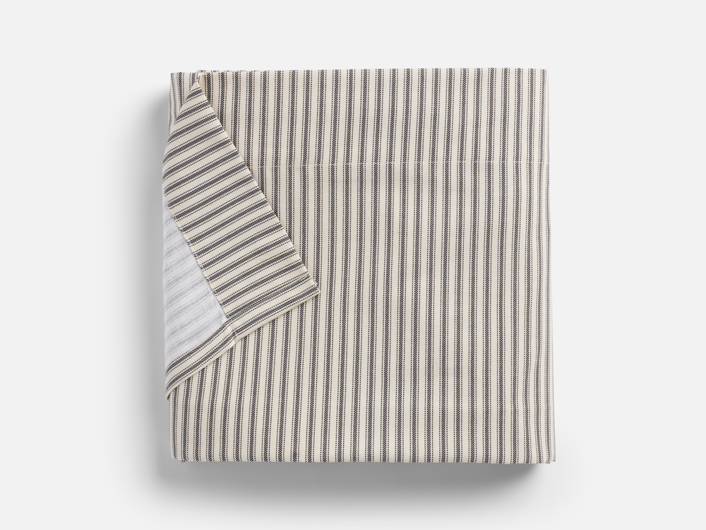 Lawrence Ticking Stripe Single Flat Sheet