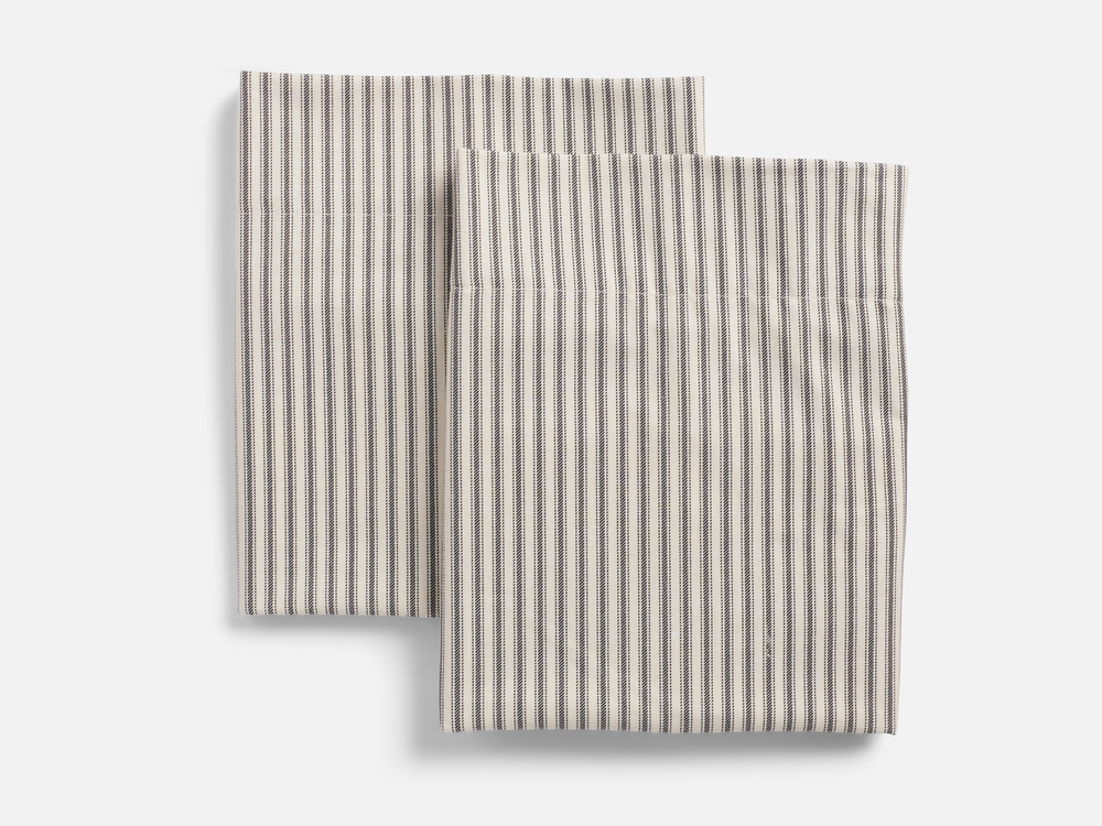 Ticking Stripe Pillowcase Sets