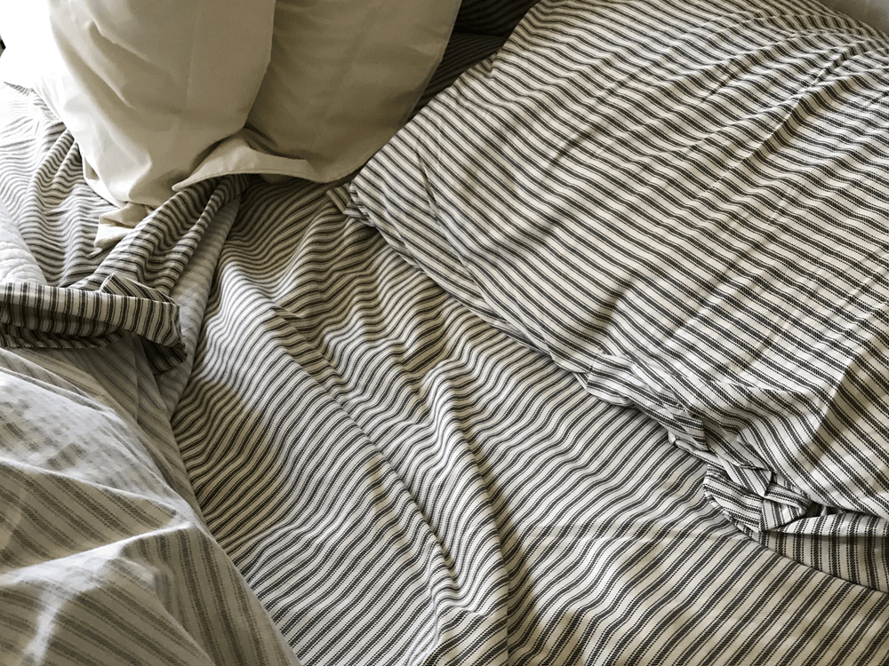 Ticking Stripe Sheet Sets