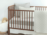 Lawrence Ticking Stripe Accent Baby Bedding Bundle
