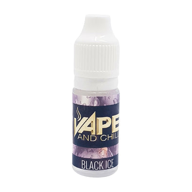 Black Ice Flavour - Vape and Chill