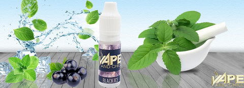 e-Liquid Black Ice (Blackcurrant & Menthol) Flavour