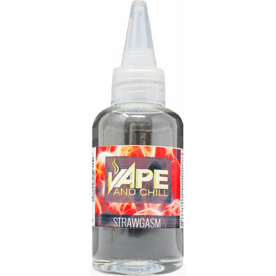 e-Liquid Strawgasm (Strawberry+Cream) Flavour