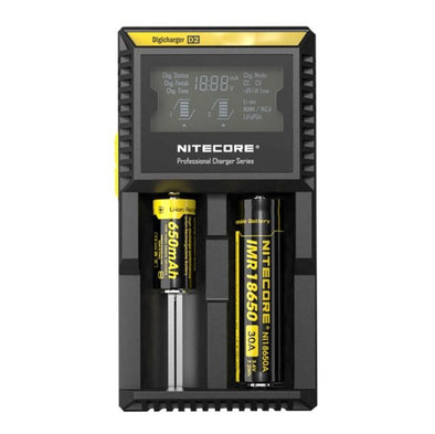 Nitecore D2 DigiCharger - Vape and Chill