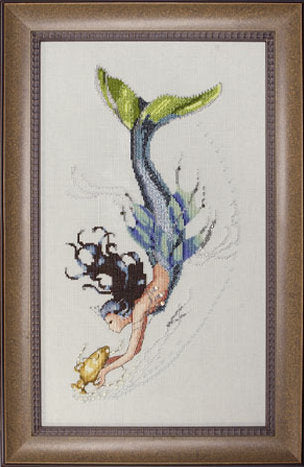 Mirabilia Mediterranean Mermaid Nora Corbett MD-102 cross stitch pattern