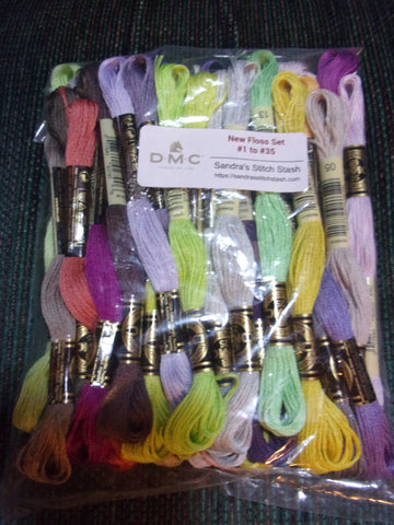 Mirabilia Alice MD157 floss pack