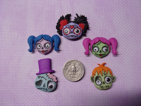Zombie Head Needle Minders