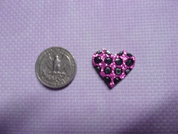 Polka Dot Hearts Needle Minders