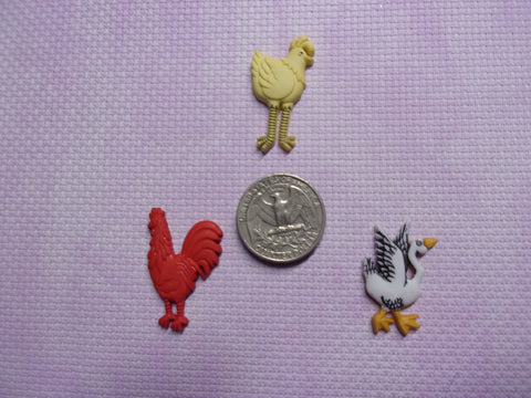 Farm Birds Needle Minders