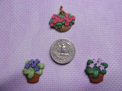 Flower Pots Needle Minders