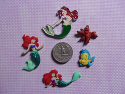 Little Mermaid Arial needle minders