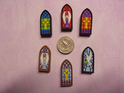 Church Window needle minders