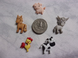 Baby Farm Animal needle minders