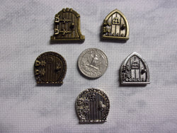 Door needle minders