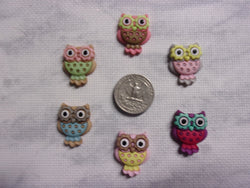 Cutesy Owls Needle Minders