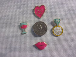 Metal Bridal Needle Minders