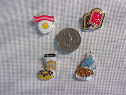 Metal Breakfast Needle Minders