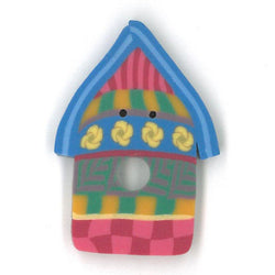 Summer Birdhouse Buttons