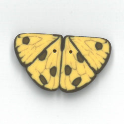 Just Another Button Company Yellow Butterfly, 1142