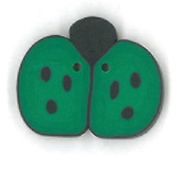 Medium Green Ladybug Buttons