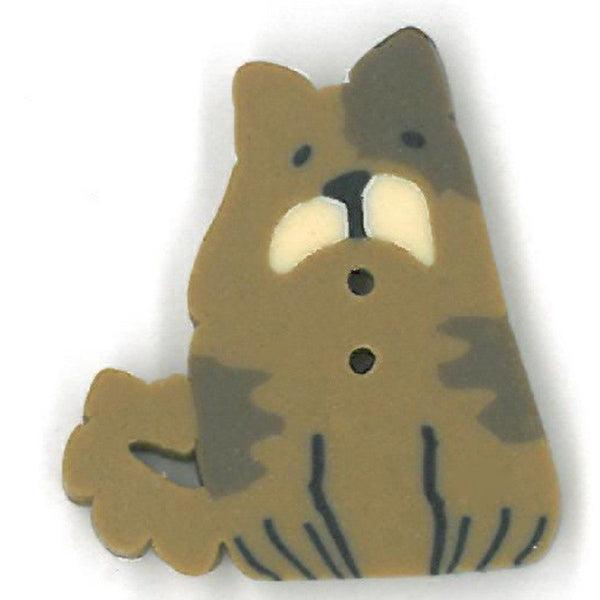 Brown Dog Buttons