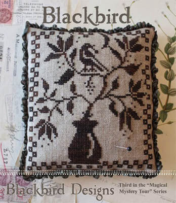Blackbird Designs Blackbird Beatles Magical Mystery tour cross stitch pattern