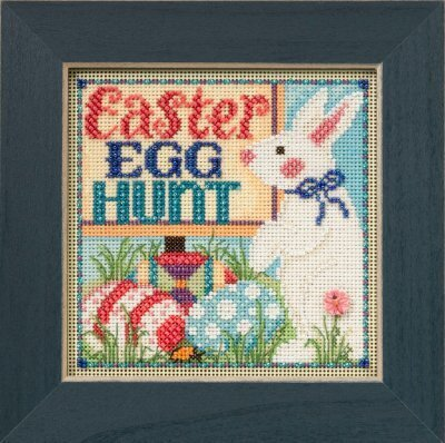 Mill Hill Egg Hunt 14-5106 beaded cross stitch kit