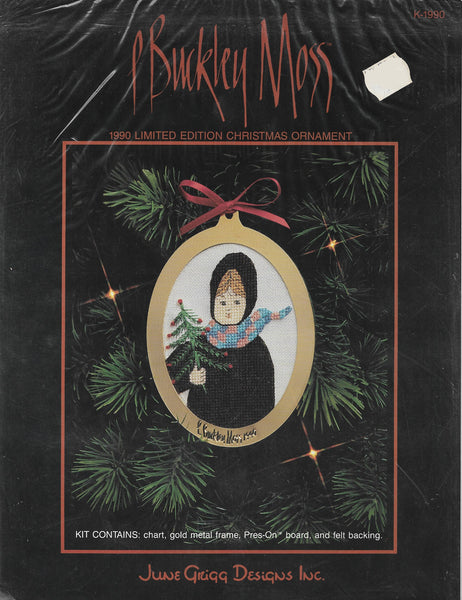 P. Buckley Moss 1990 Limited Edition Ornament cross stitch pattern