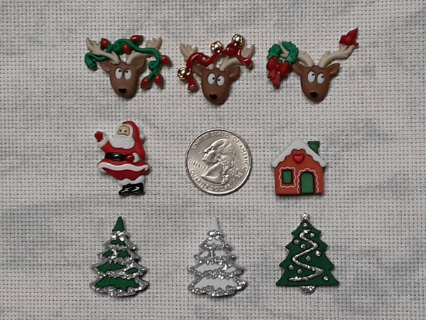 Christmas needle minders