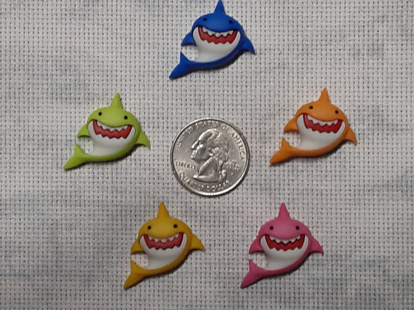 Jaw-some shark needle minders