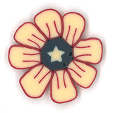 Liberty Daisy Buttons