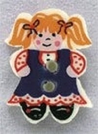 Mill Hill Doll 86301 button