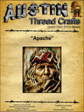 Austin Thread Crafts Apache cross stitch pattern