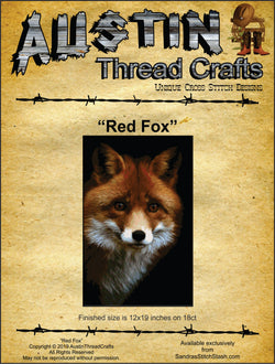 Austin Thread Crafts Red Fox cross stitch pattern