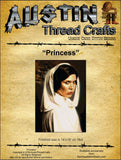 AustinThreadCrafts Princess Leah Star Wars cross stitch pattern