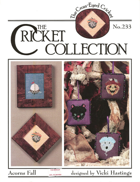 Cricket Aprons Fall CC233 cross stitch pattern